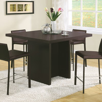 """Dining Table - 48""""X 48"""" - Cappuccino Counter Height"""
