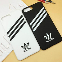 ADIDAS Popular Stripe Print iPhone 6 6s 6Plus 6sPlus 7 7 Plus Phone Cover Case