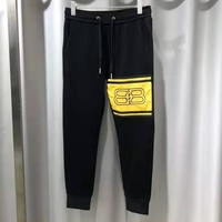 Balenciaga Trending Men Women Casual Embroidery Print Sport Pants Trousers