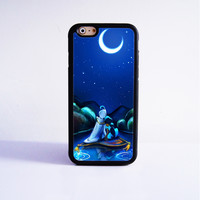 Aladdin Disney Princess Rubber Case Cover for Apple iPhone 4 4s 5 SE 5s 5c 6 6s Plus