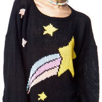 Wildfox Couture Shooting Star Lennon Sweater