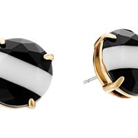 Kate Spade New York The Right Stripe Stud Earrings