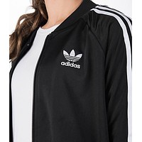 """Adidas"" Zipper Cardigan Sweatshirt Jacket Coat Windbreaker Sportswear"