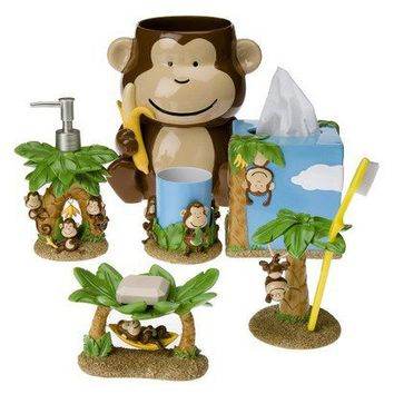 Circo Monkey Bath Collection From Target