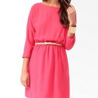 Essential Chiffon Panel Dress