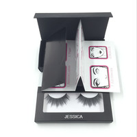 3D MINK False Eyelashes Messy Cross Thick Natural Fake Eye Lashes Professional Makeup Bigeye Eye Lashes Handmade