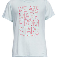 Billabong Girls We Are Stars Tee Blue  In Sizes