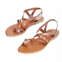Strappy Sandal - Tan