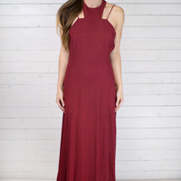 Lady Luck Strappy Back Maxi Dress