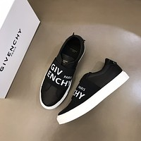 Givenchy Men Fashion Boots fashionable Casual leather Breathable Sneakers Running Shoes06220qh