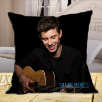 The Shawn Mendes EP on Square Pillow Cover