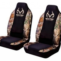 Realtree Outfitters Camo Car Truck SUV Front Universal-Fit Bucket Seat Covers - PAIR