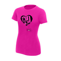AJ Lee Pink Youth Girl's T-Shirt
