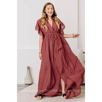 In This Moment Sheer Maxi Dress