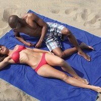 """SportLite BEACH BLANKET: 100% Microfiber XXL Beach Towel, with corner anchor pockets. Big enough for two (76"""" x 64""""). Available separately, or bundled with one of our matching Beach Towels."""