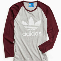 adidas Essentials Long Sleeve Tee - Urban Outfitters