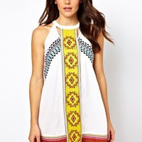 River Island Misha Mexican Dress at asos.com