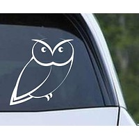 Owl (27) Die Cut Vinyl Decal Sticker
