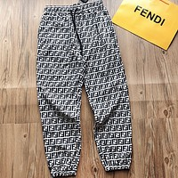 Fendi New Fashion More Letter Print Women Men Pants