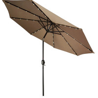 Patio Umbrella Stand With Canopy Cover Solar Lights On Sale Led