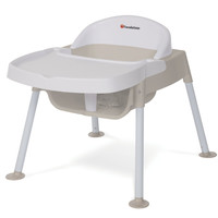 Foundations Secure Sitter Tip and Slip Proof Feeding Chair White/Tan - 4609247