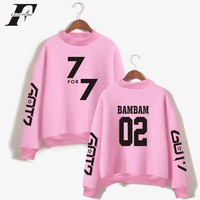 LUCKYFRIDAYF 2018 BTS GOT7 K-Pop Korean K Pop Women Hoodies Sweatshirts Outwear  Mens GOT7 Autumn Winter Sweatshirts Clothes