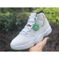 "[ Free Shipping ]Air Jordan 11 A J 11 ""Platinum Tint"" Basketball Sneaker"