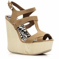 Woodsy Girl Wedges