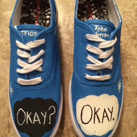 The Fault In Our Stars Handpainted Cutom Shoes
