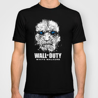 Wall of Duty T-shirt by Le.duc