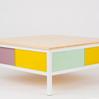 """quick pick colorful coffee table #1 """"peep"""""""