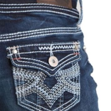 Hydraulic Jeans Bootcut with Triple Stitch Flap Pocket M3492B2K1RH