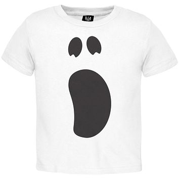Halloween Ghost Face 2 Toddler Costume T-Shirt
