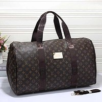 Louis Vuitton LV Women Travel Bag Leather Luggage Travel Bags Tote Handbag Bag