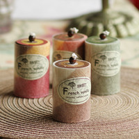 Aromatherapy Scented Candle Natural Fragrance Smokeless Romantic Wedding Supplies Creative Birthday Wedding Home Decoration