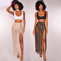Two Piece Crop Tank Top set