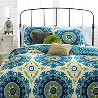 Suzani 3 Piece Comforter and Duvet Cover Sets