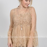 Antique Lace Belle Top