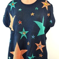 Hot & Delicious Imma Star Knit Top