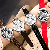 LV new simple personality men and women quartz watch