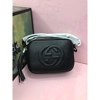 Gucci Newest Popular Women Leather Handbag Tote Crossbody Shoulder Bag Satchel