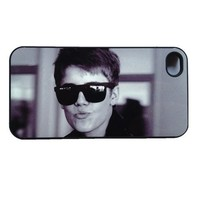 JUSTIN BIEBER Sunglasses iPhone 4 4s Plastic Hard Phone Cover Case