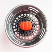 Sink Strainer, Decorative Kitchen, Sink Drain, Drain Plug, Pumpkin, Fall Decor, Thanksgiving Decor, Pumpkin Decor