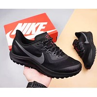 NIKE Air Vapormax Flyknit Trending Men Women Sport Running Shoes Sneakers Black