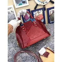 Louis Vuitton LV Women Leather Tote Satchel Shoulder Bag Handbag Crossbody