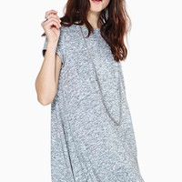 Slight Drizzle Tee Dress