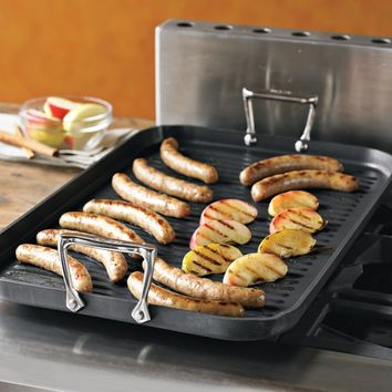 All-Clad Gourmet Double-Burner Grill