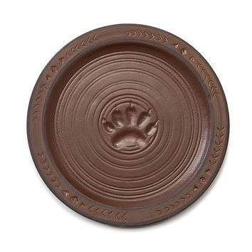 Maskwa Ridge Snack Plate Set of 4