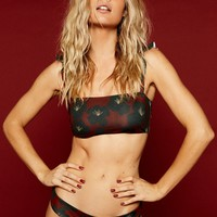Stone Fox Swim - Maia Top | Cherry Hibiscus