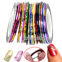 Fashion 29 Color Rolls Striping Tape Line Nail Art Decoration Sticker Brand New